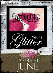 Glitter-party-button