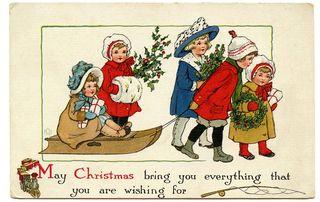 Christmasgroupchildrengraphicsfairy007b