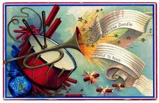 July 4th vintage graphicsfairy