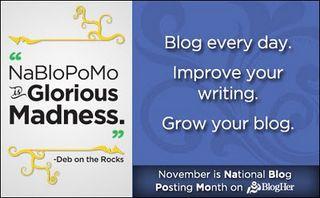 Novemberblogging