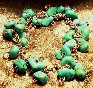 Turquoisesilverbracelet