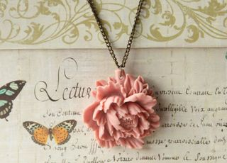 Peonynecklace