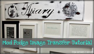 Mod podge image trans- title