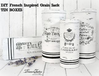 French+Grain+Sack+Tin+Boxes