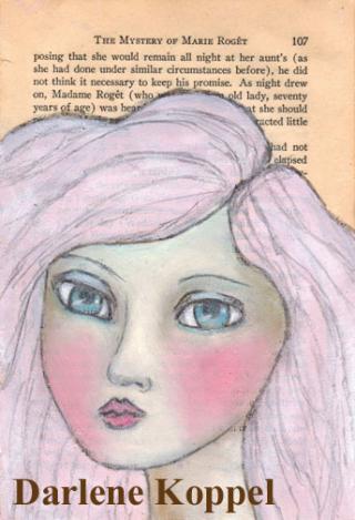 PinkHairedGirlKoppelDarlene